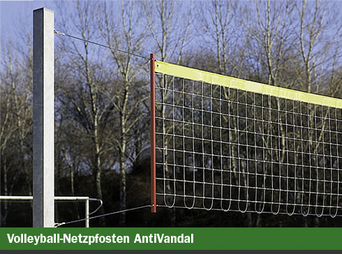 Volleyball-Netzpfosten AntiVandal