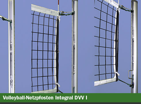 Volleyball-Netzpfosten Integral DVV-1
