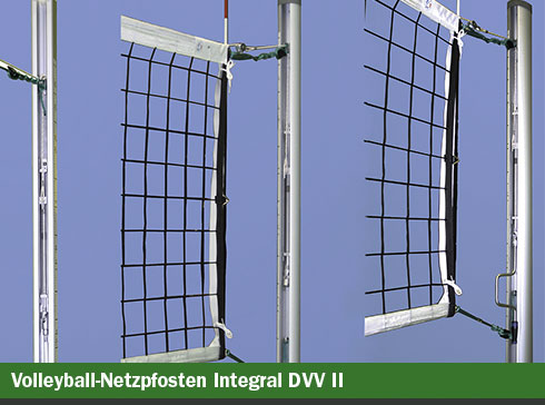 Volleyball-Netzpfosten Integral DVV-2