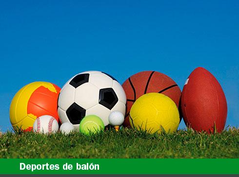 Deportes de balón