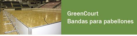GreenCourt - Bandas para pabellones