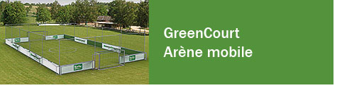 GreenCourt - Arène mobile