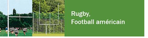 Rugby, Football américain