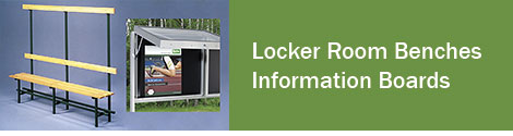 Locker-Room Benches