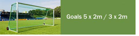 Goals 5 x 2m / 3 x 2m