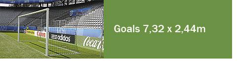 Goals 7,32 x 2,44m