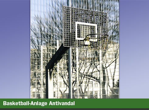 Basketball-Anlage Antivandal