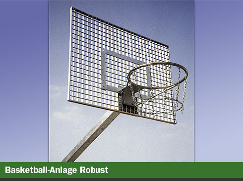 Basketball-Anlage Robust