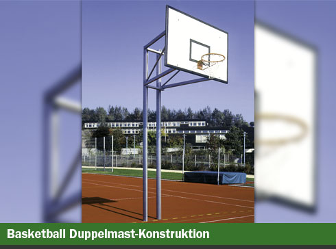 Basketball, Doppelmast-Konstruktion