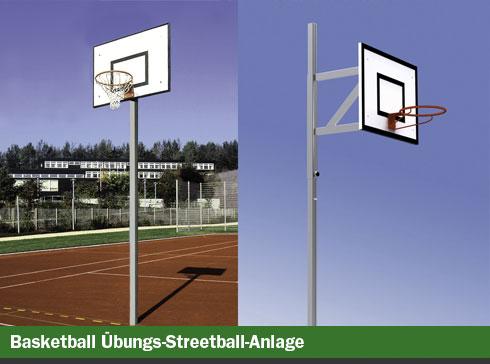 Basketball-Übungs-Streetball-Anlage