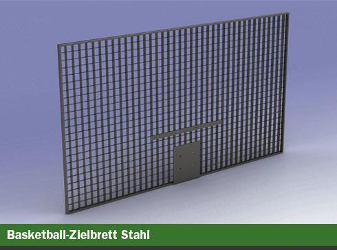 Basketball-Zielbrett Stahl
