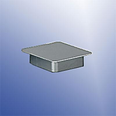 Deckel für Standard-Bodenhülse 90x90mm