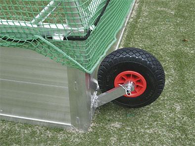 Feldhockeytor Transportrolle