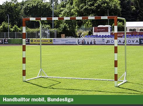 Handballtore mobil Bundesliga