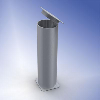 Standard-Bodenhülse Ovalprofil
