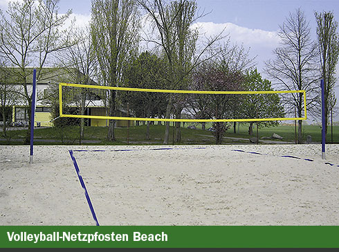 Volleyball-Netzpfosten Beach