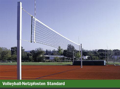 Volleyball-Netzpfosten Standard
