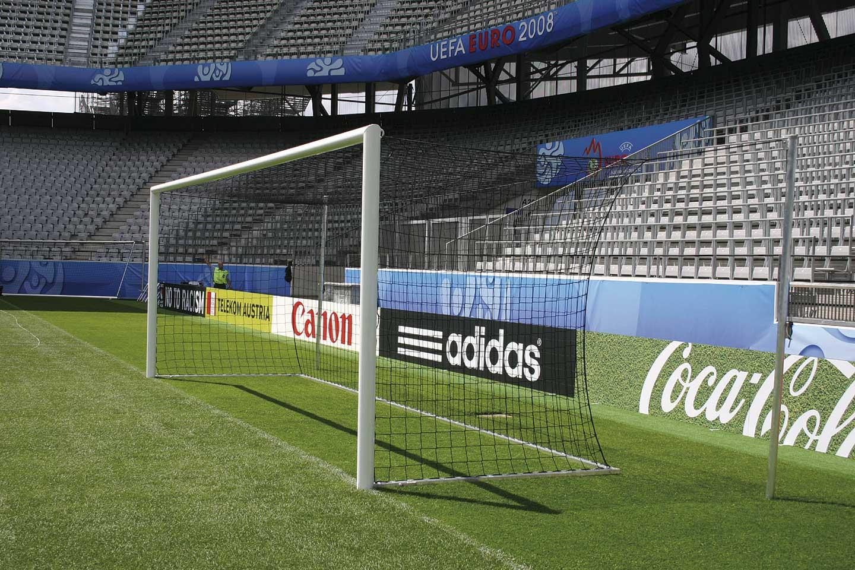 Fussballtor 7,32 x 2,44m / Freie Netzaufhängung