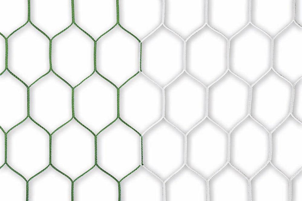 Tornetz grün-weiß