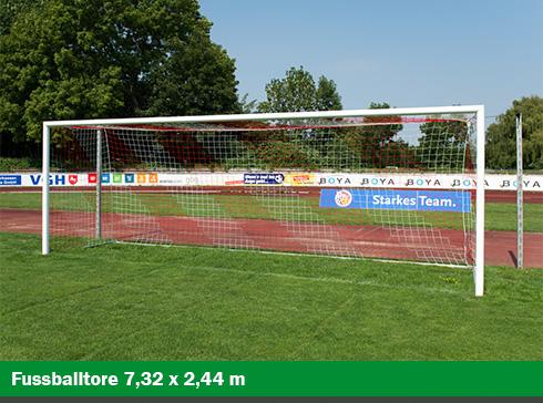 helo Fußballtore 7,32 x 2,44 m