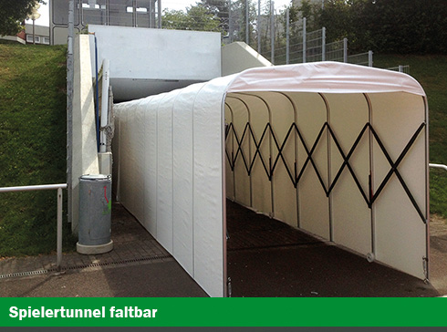 helo Spielertunnel faltbar