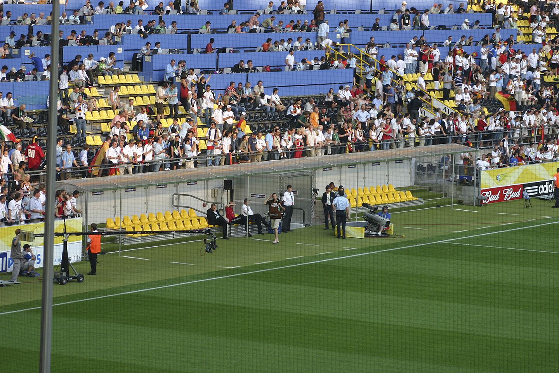 Spielerkabinen bei Borussia Dortmund