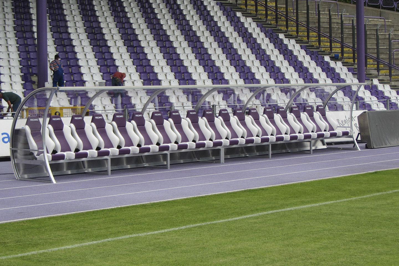 Spielerkabinen für FC Erzgebirge Aue