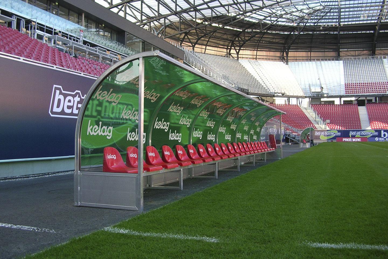 Spielerkabinen für SK Austria Klagenfurt
